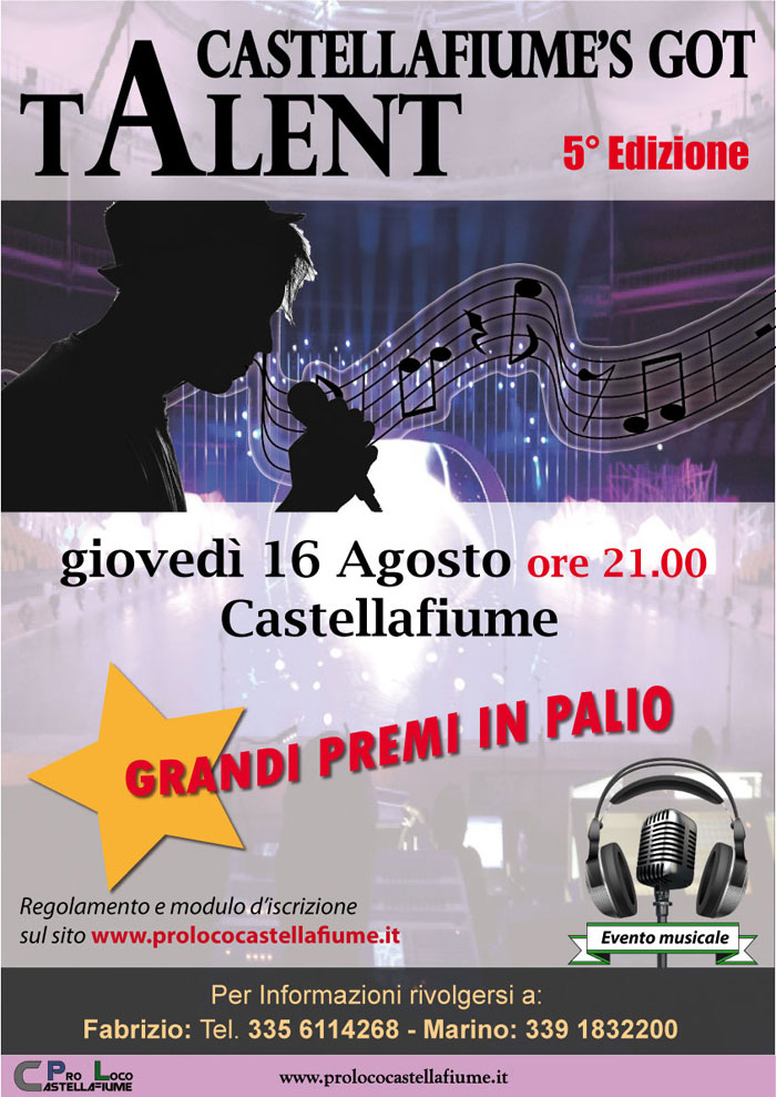Castellafiume?s got Talent 5° edizione