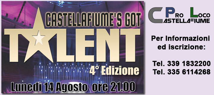 Castellafiume's got talent 2017 - 4' Edizione